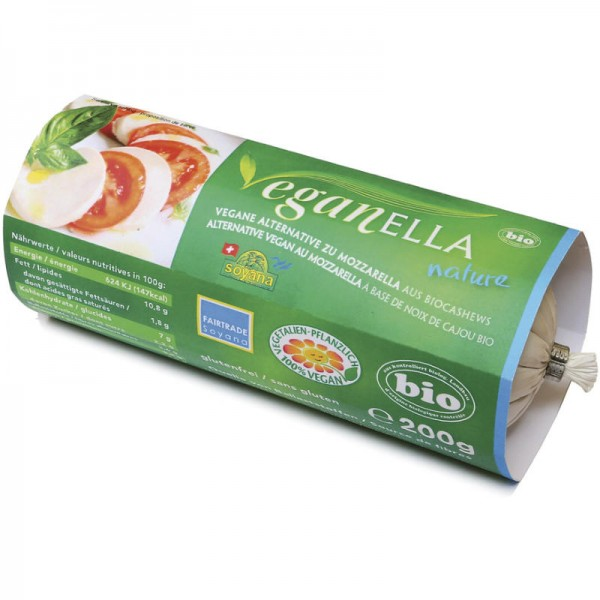 Veganella nature Bio, 200g - Soyana