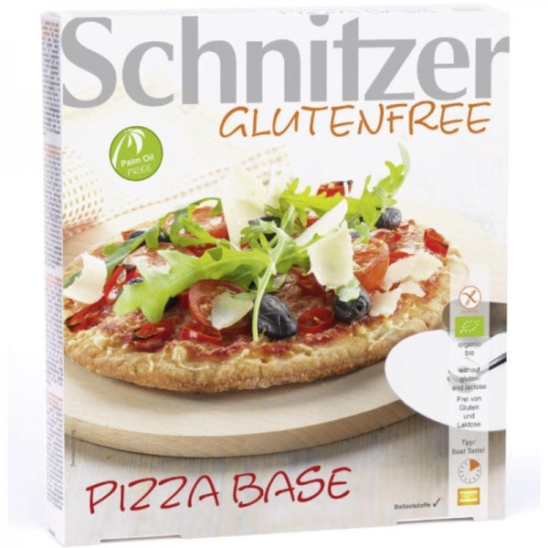 Pizza Base 3 Stück Bio, 300g - Schnitzer