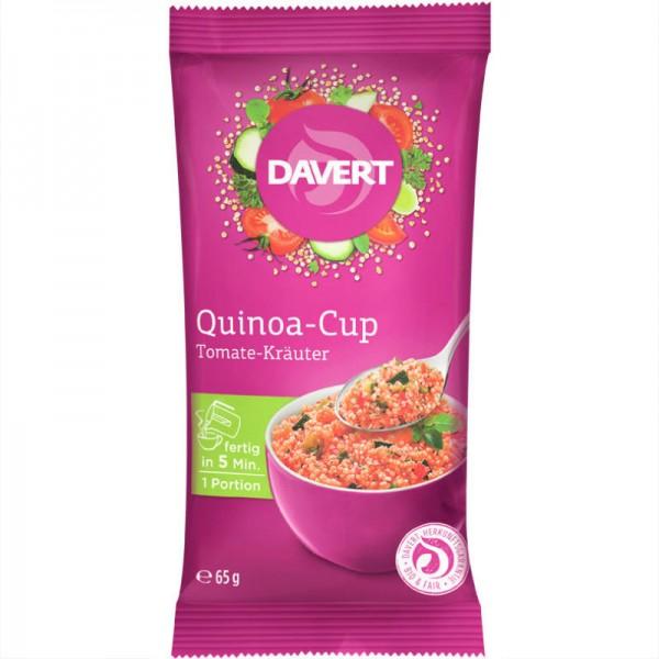 Quinoa-Cup Tomate-Kräuter Bio, 65g - Davert