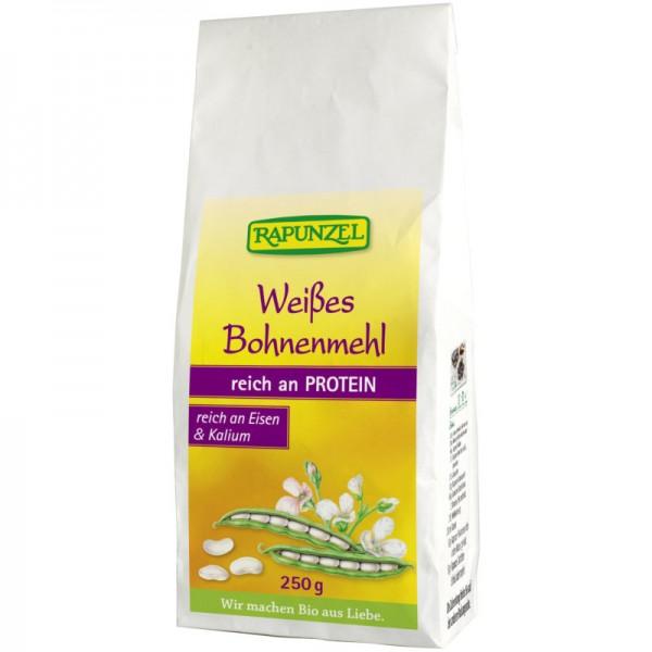 Weisses Bohnenmehl Bio, 250g - Rapunzel