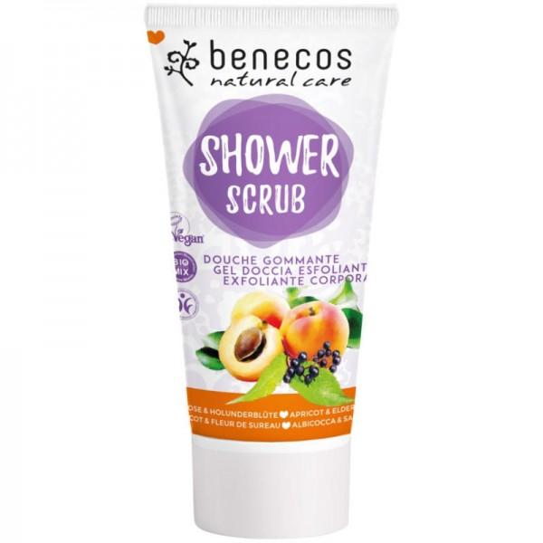 Shower Scrub Aprikose & Holunderblüte, 200ml - Benecos