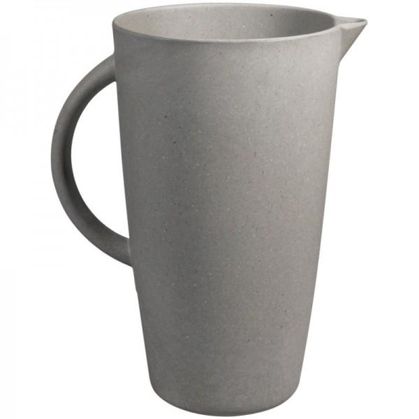 Smug Jug 2l Karaffe aus Bambus 'Stone Grey' - Zuperzozial
