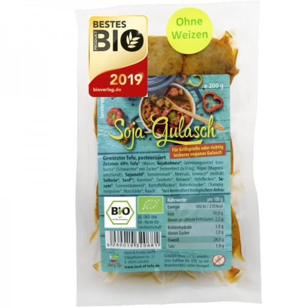 Soja-Gulasch Bio, 200g - Lord of Tofu