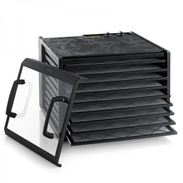 Dörrgerät schwarz 9 Schubladen mit 26h Timer, Excalibur