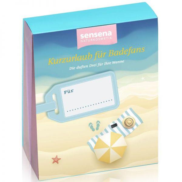 Geschenkset Kurzurlaub für Badefans, 3 Stück - Sensena