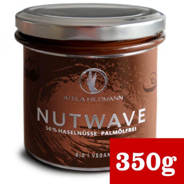 Nutwave Premium Nuss-Nougat-Creme palmölfrei Bio, 220g - Attila Hildmann