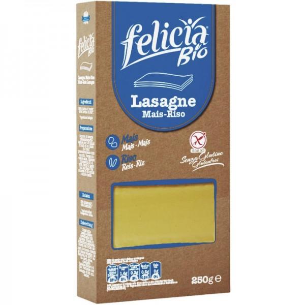 Mais-Reis Lasagne Bio, 250g - Felicia