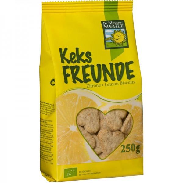 Zitrone Keks Freunde Bio, 250g - Bohlsener Mühle