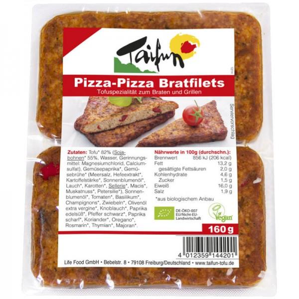 Pizza-Pizza Bratfilets Bio, 160g - Taifun