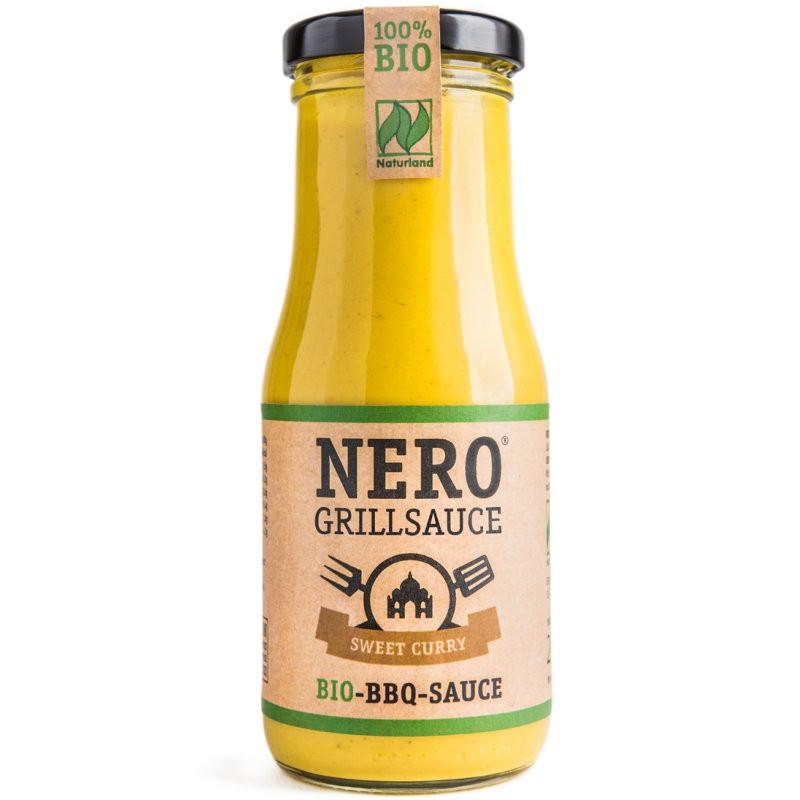 BBQ Grillsauce Sweet Curry Bio, 250ml - Nero
