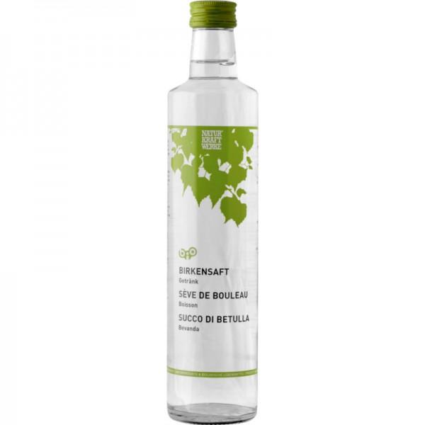Birkensaft unpasteurisiert Bio, 500ml - Natur Kraft Werke