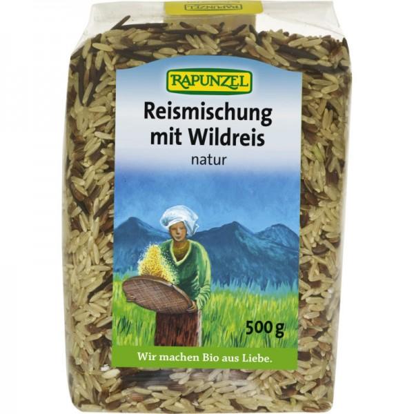 Reismischung mit Wildreis natur Bio, 500g - Rapunzel