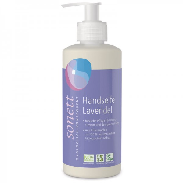 Handseife Lavendel Pumpspender, 300ml - Sonett