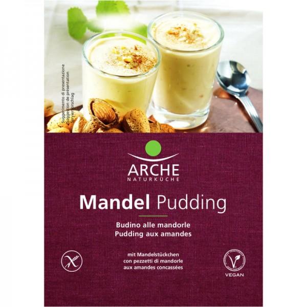 Mandel Pudding Bio, 46g - Arche