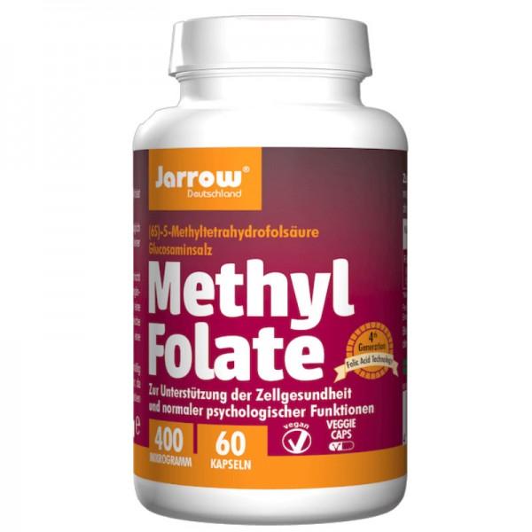 Methyl Folate 400 µg, 60 Kapseln - Jarrow