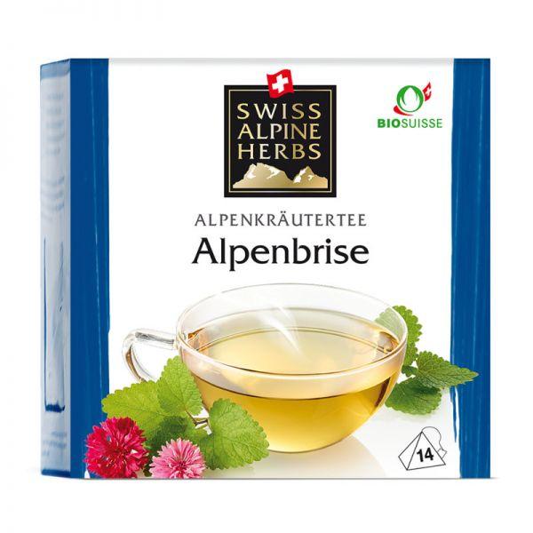 Kräutertee Alpenbrise Tee Bio, 14x1g - Swiss Alpine Herbs