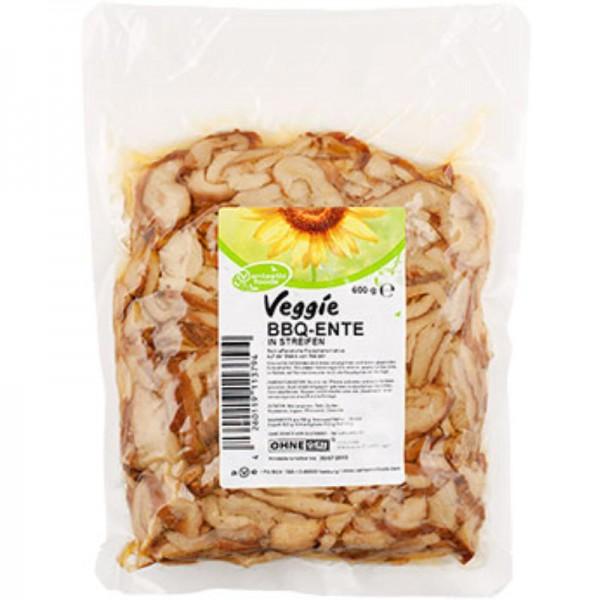 Veggie wie BBQ Ente in Streifen, 600g - Vantastic Foods