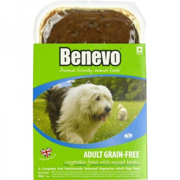 Adult Grain-Free Nassfutter für Hunde, 395g - Benevo