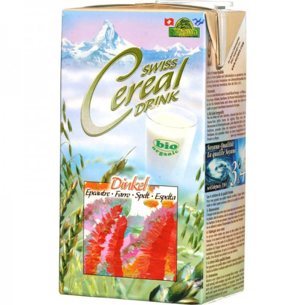 Dinkel Swiss Cereal-Drink Bio, 1L - Soyana