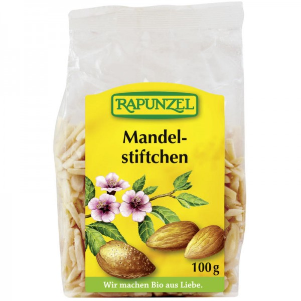 Mandelstiftchen Bio, 100g - Rapunzel