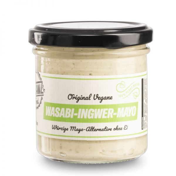 Original Vegane Wasabi-Ingwer-Mayo, 200ml - Outlawz Food