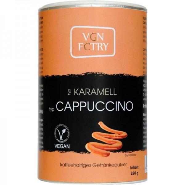 Instant Cappuccino Karamell, 280g - VGN FCTRY