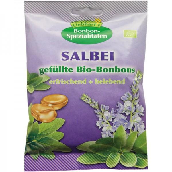 SALBEI gefüllte Bonbons Bio, 100g - Liebhart's