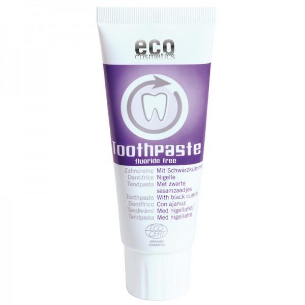 Zahncreme mit Schwarzkümmel, 75ml - eco cosmetics