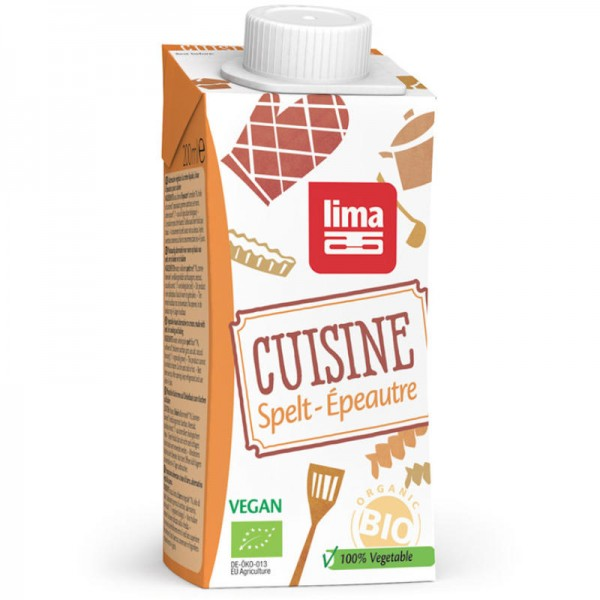 Dinkel Cuisine Bio, 200ml - Lima