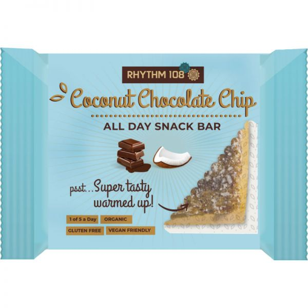 All Day Snack Bar Coconut Chocolate Chip Bio, 40g - Rhythm 108