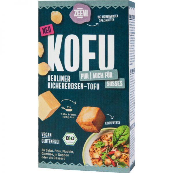 Kofu Kichererbsen-Tofu Pur Bio, 200g - Zeevi