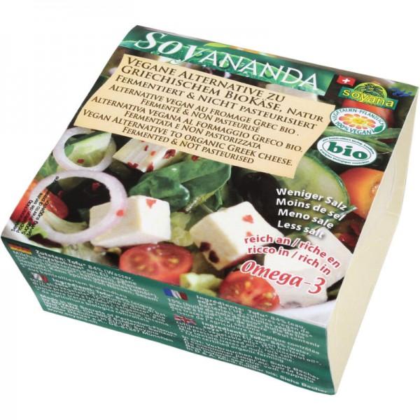 Griechische Vegane Käse-Alternative Nature Soyananda Bio, 200g - Soyana