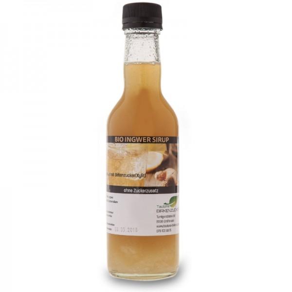 Sirup aus Bio-Ingwer gesüsst mit Xylit,  350ml - Tautona