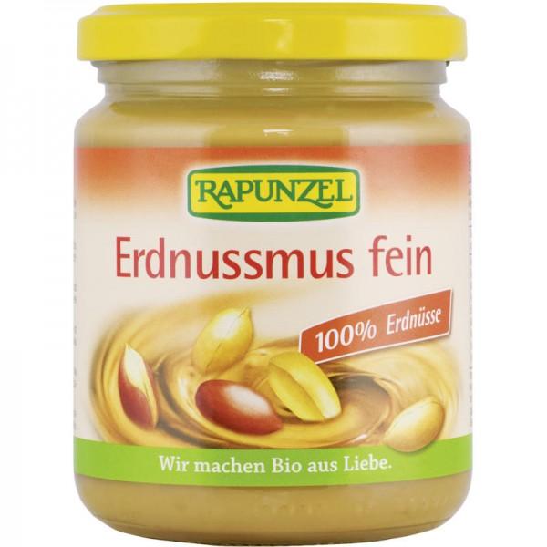 Erdnussmus fein Bio, 250g - Rapunzel