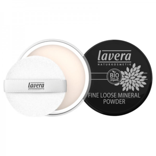 Fine Loose Mineral Powder Transparent, 8g - Lavera