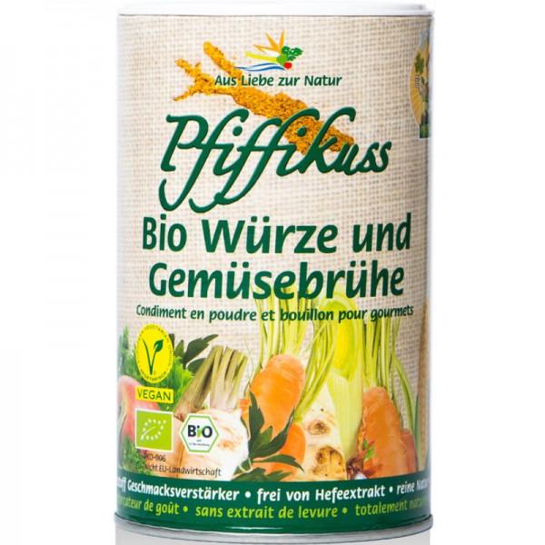 Würze und Gemüsebrühe Bio, Dose 250g - Pfiffikuss