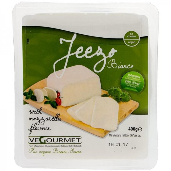 Jeezo Bianco Block, 400g - Vegourmet