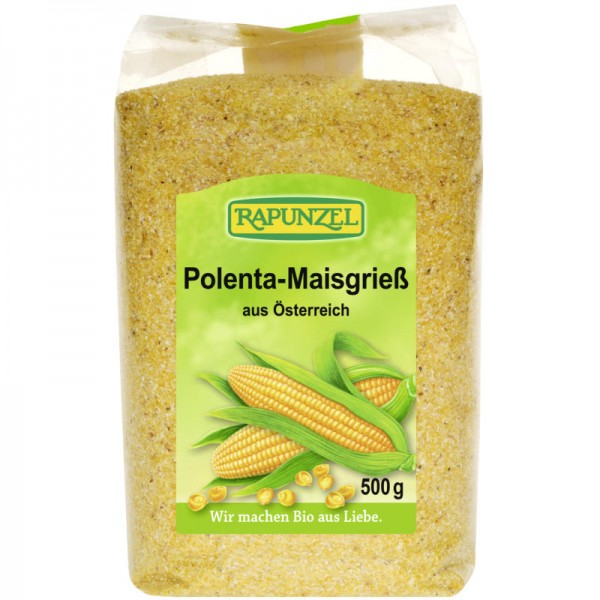 Polenta-Maisgriess Bio, 500g - Rapunzel