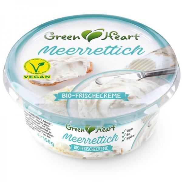 Frischecreme Meerrettich Bio, 150g - Green Heart