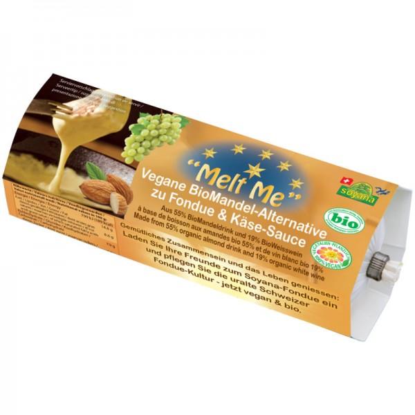"""Melt me"" Vegane Mandel-Alternative zu Fondue & Käse-Sauce Bio, 400g - Soyana"