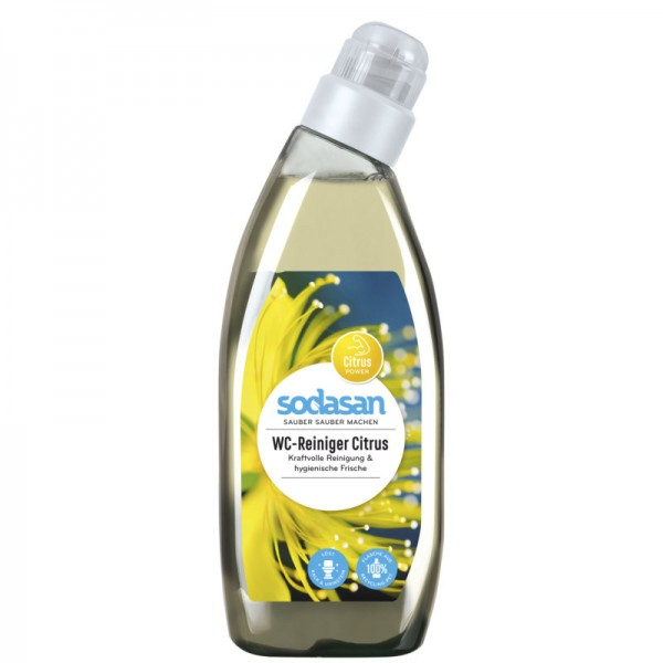 WC-Reiniger hygienische Frische und Sauberkeit, 750ml - Sodasan