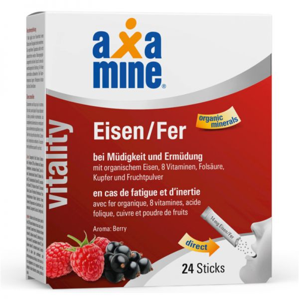 Vitality Eisen Sticks Berry, 24 Sticks - Axamine