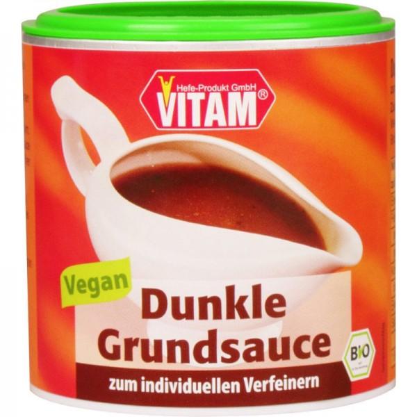 Dunkle Grundsauce Bio, 125g - Vitam