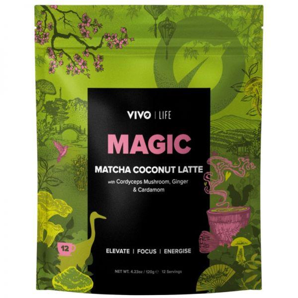 Magic Matcha Coconut Latte, 120g - VIVO