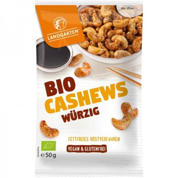 Cashews Würzig Bio, 50g - Landgarten