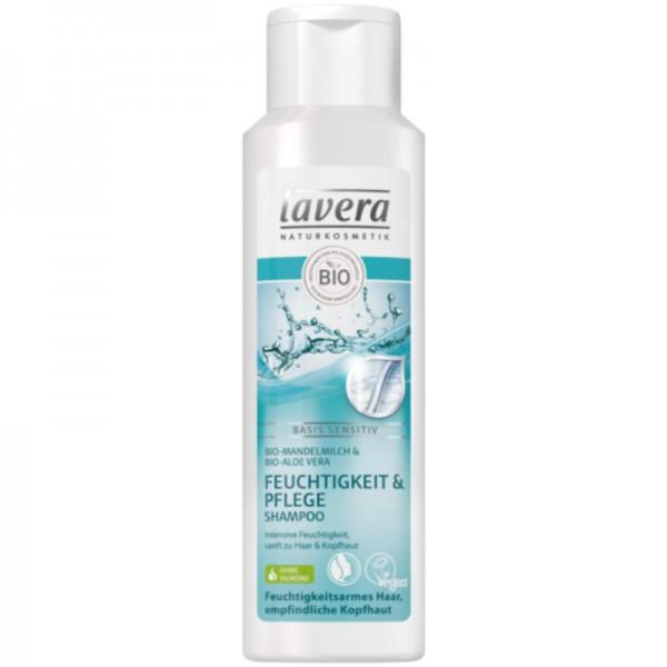 Feuchtigkeit & Pflege Shampoo basis sensitiv, 250ml - Lavera