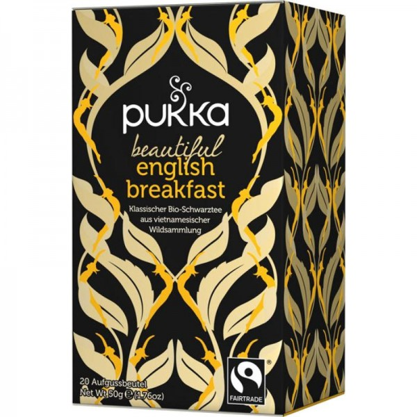 Beautiful English Breakfast Schwarztee Bio, 50g - Pukka