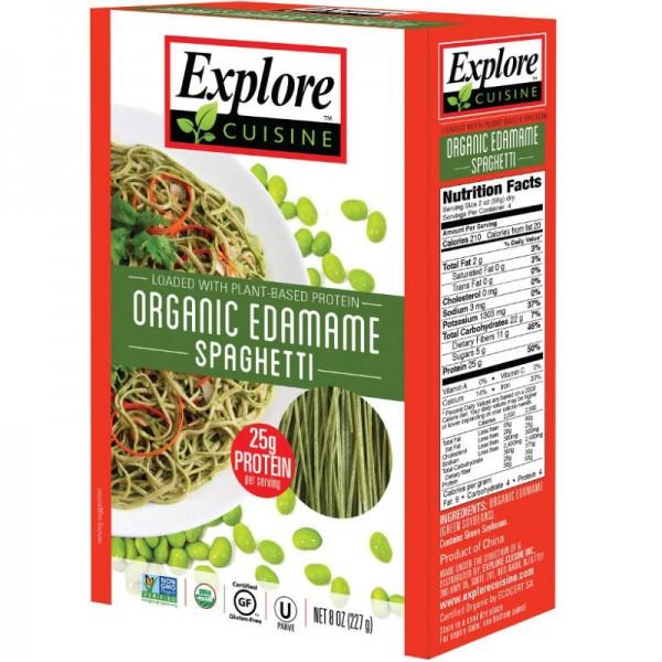 Spaghetti aus Edamamebohnen Bio, 200g - Explore Cusine