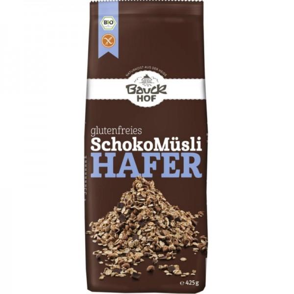 Glutenfreies SchokoMüsli Hafer Bio, 425g - Bauckhof