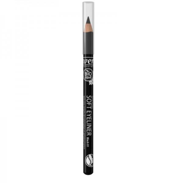 Soft Eyeliner Black 01, 1.14g - Lavera